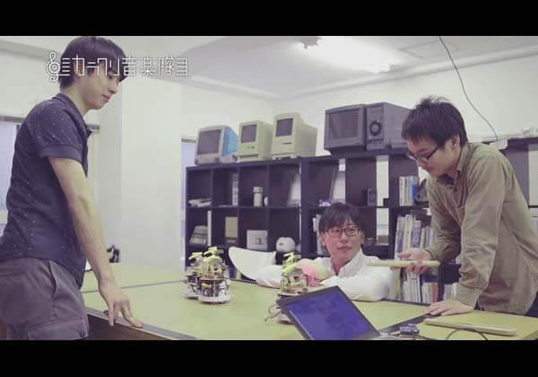 ROHM カラクリ音楽隊 Lazuriteで作る カラクリ演奏ロボット