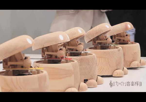 ROHM カラクリ音楽隊 Lazuriteで作る カラクリ演奏ロボット 演奏デモ